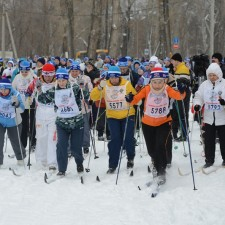 Фото лыжня России