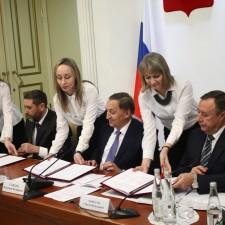 Фото подписание соглашения 2018